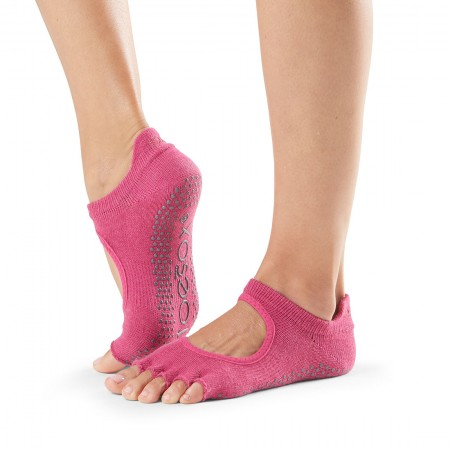 Grip Half Toe Bellarina Raspberry