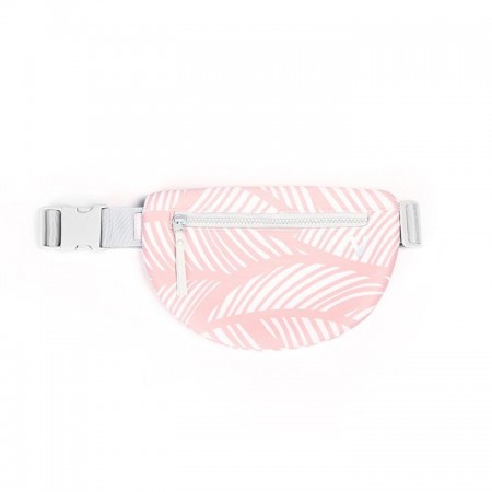 urban fanny pack feather pink