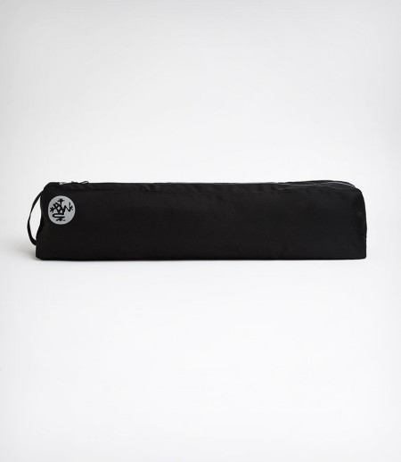 Manduka Go Light 3.0 Black juodas vienos kišenės jogos kilimėlio nešioklė krepšys