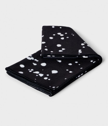 Manduka eQua Mini Dot Black rankšluostis prakaitui