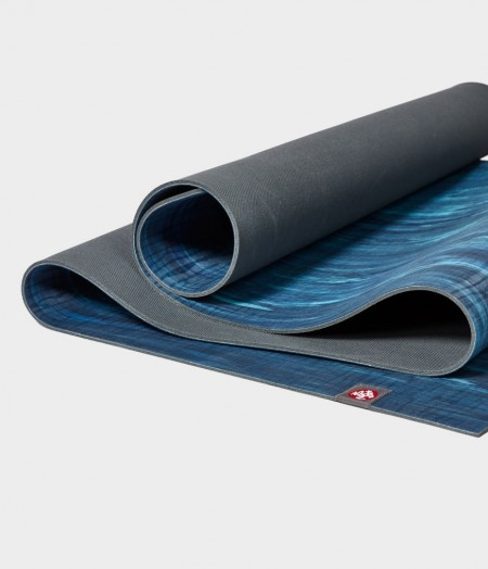 Manduka eKO natūralios gumos kilimėlis jogai Pacific Blue Marbled