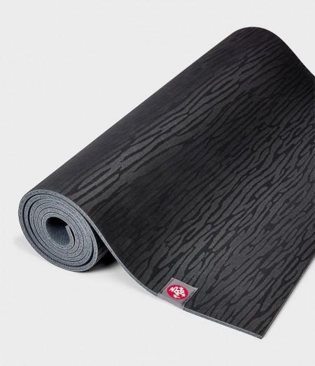 Manduka eKO Black juodas guminis jogos kilimėlis