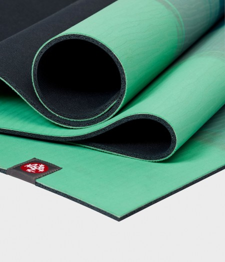 Manduka eKO naturalios gumos žalias kilimėlis jogai