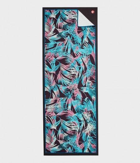 Manduka yogitoes towel Tropics Black Print