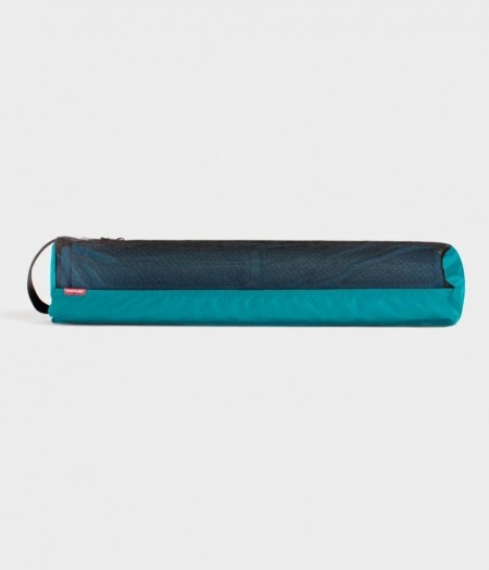 Manduka breathe easy harbour green mat carrier