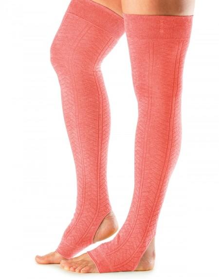 Leg Warmers Open Heel Tangerine