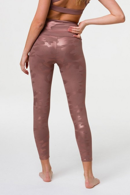 Onzie rose gold camo legging