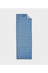 Manduka rankšluostis jogai yogitoes Star Dye Clear Blue