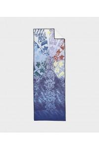Manduka rankšluostis jogai yogitoes Chakra Print (Blue)