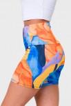 Onzie Tropic Glow mini sportiniai ir laisvalaikio šortai