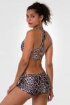 Peek a Boo Racer sportinė liemenėlė leopardas