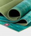 Manduka eKO Lite žalias natūralios gumos jogos kilimėlis Thrive Marbled
