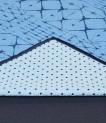 Manduka jogos rankšluostis yogitoes Star Dye Clear Blue
