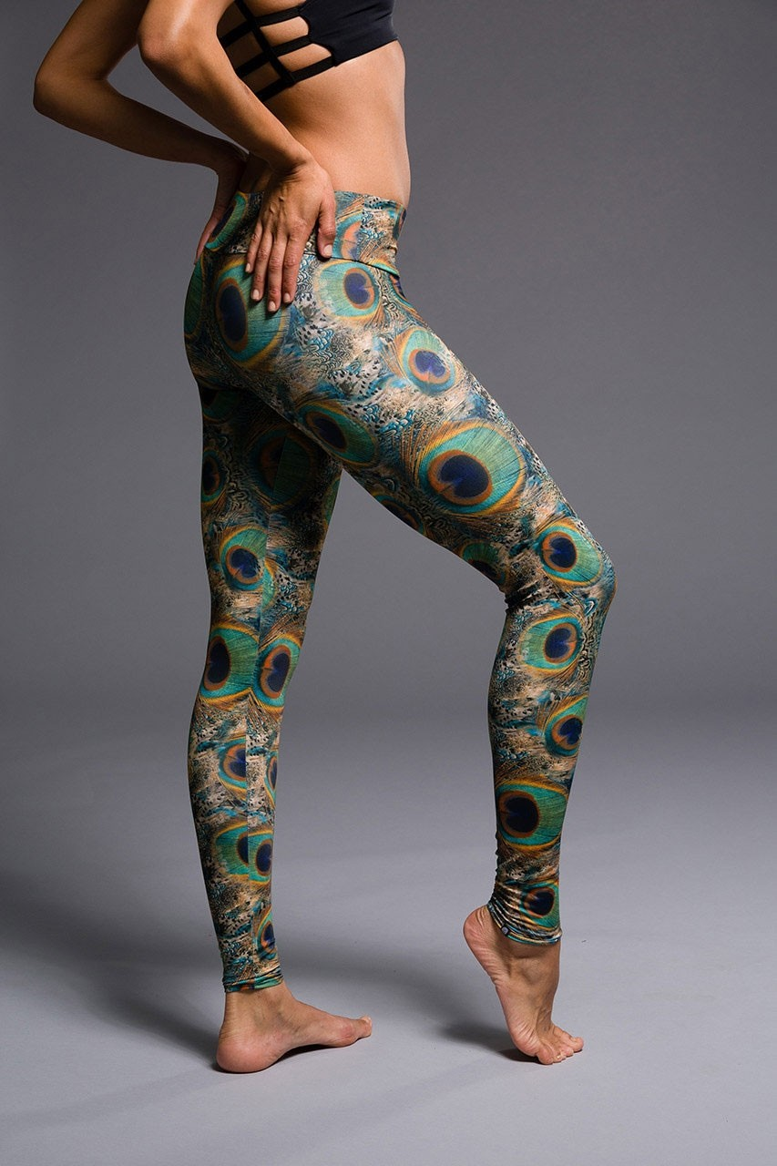 344df0e95031 Long Legging - Peacock Green