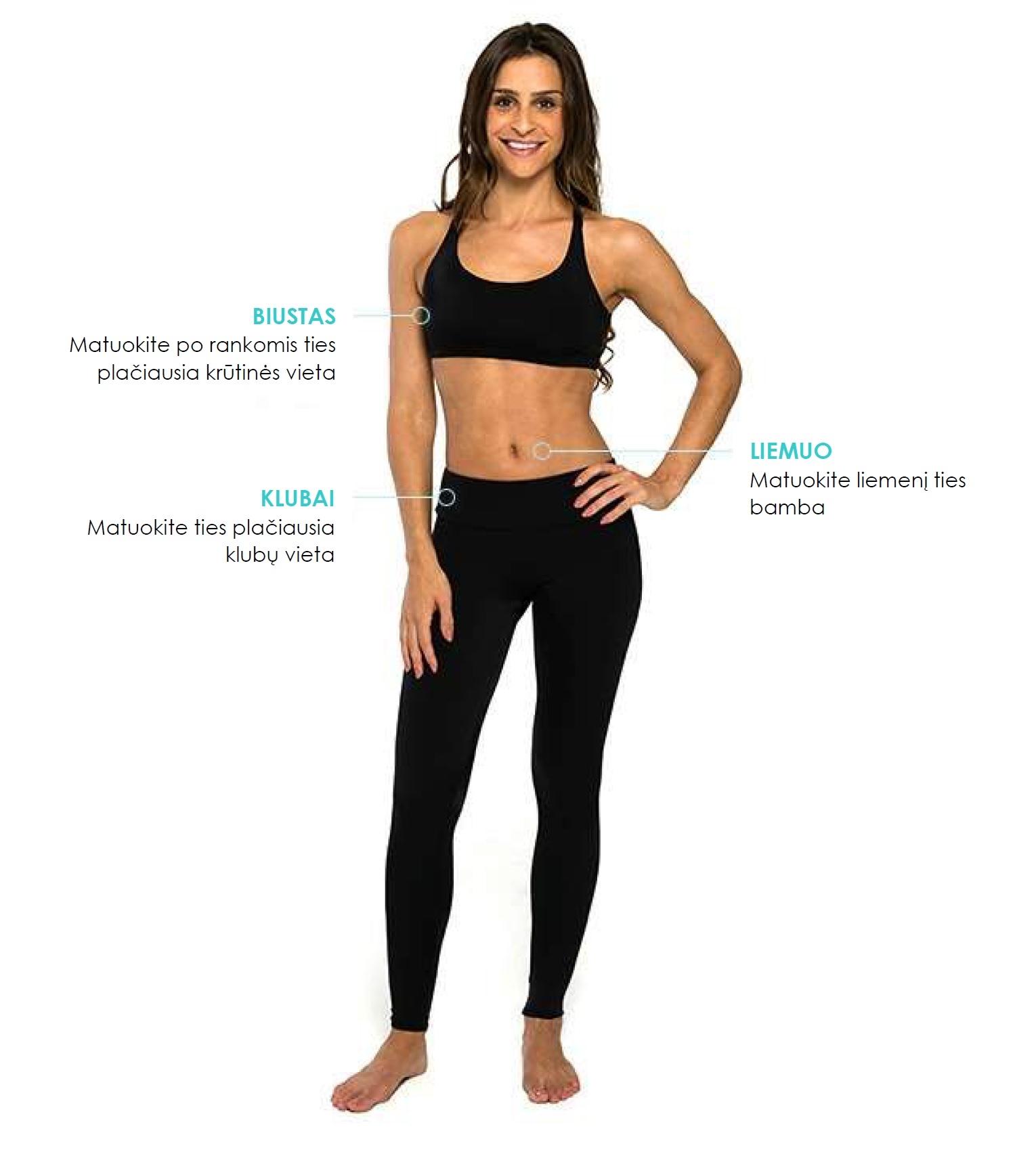 woman size chart